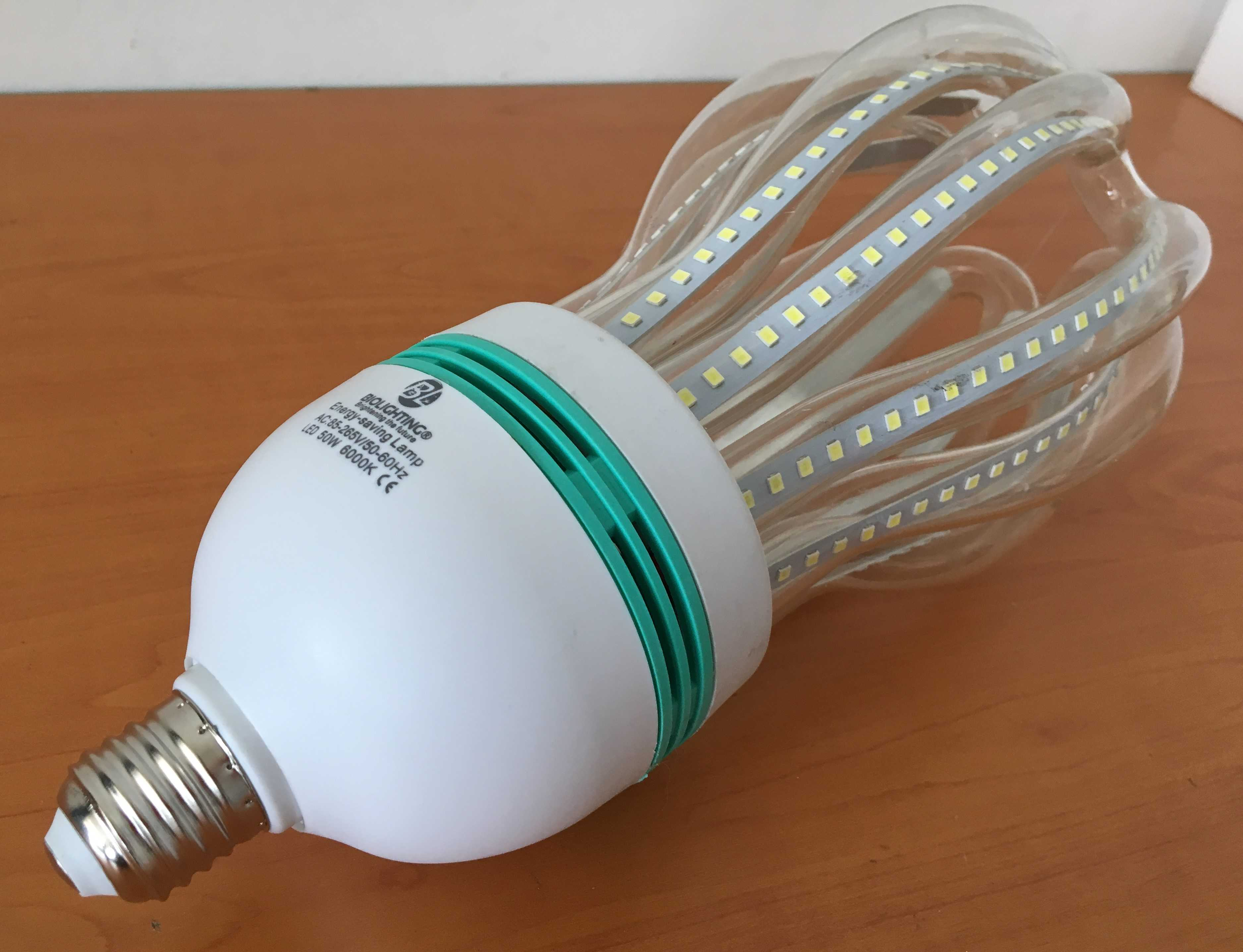 Bombillo Ahorrador LED Araña 50 Watts. Marca BIOLIGHTING.